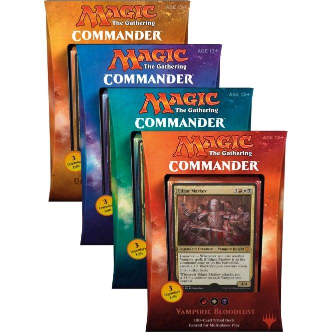 Magic Commander Decks 2019